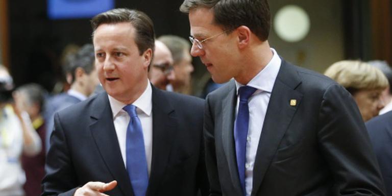 Rutte verwacht akkoord met Britten op top