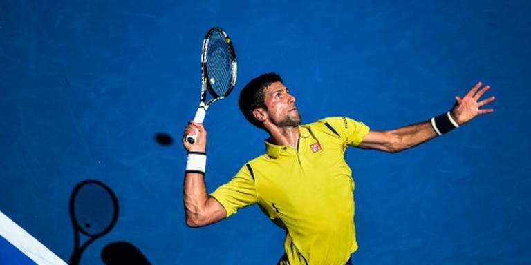 Djokovic door naar tweede ronde Melbourne