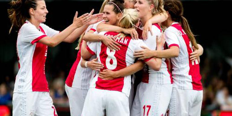 Voetbalsters Ajax starten goed in Europa