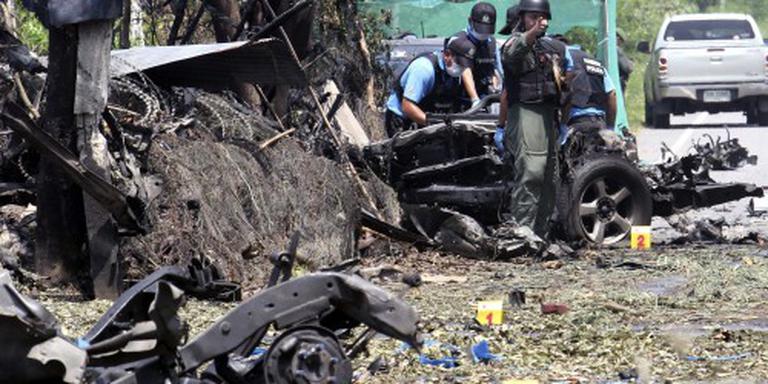 Twee bommen ontploft in zuiden Thailand