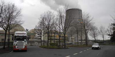 De kerncentrale in Lingen. Foto: Mannus van der Laan