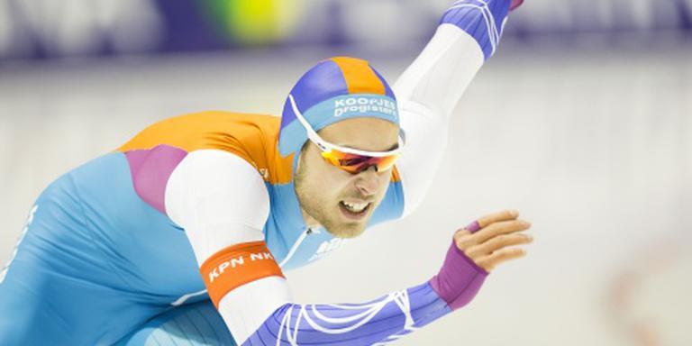 Groen wint 500 meter, Blokhuijsen tweede