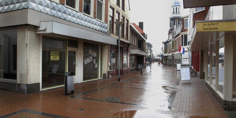 Minder Winkels Leeg In Winschoten Groningen Dvhnnl