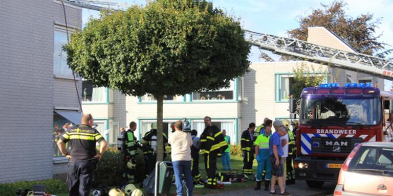 Na brand 27 appartementen onbewoonbaar