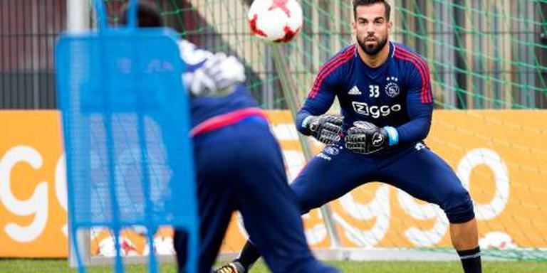 Doelman Lamprou blijft bij Ajax