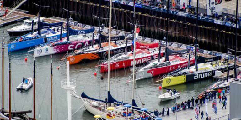 Den Haag finishplaats Volvo Ocean Race