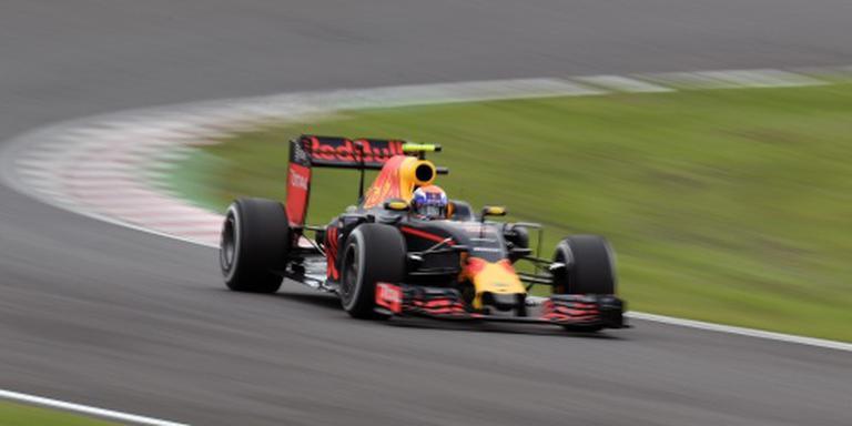 Verstappen vierde in laatste training