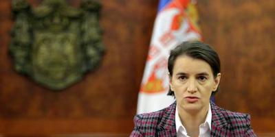 'Historische' baby voor Servische premier