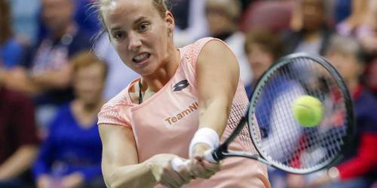 Tennispartij Hogenkamp in Parijs verschoven