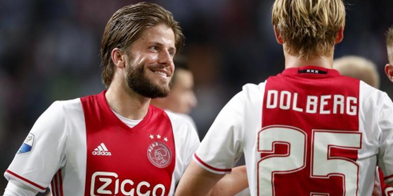 Ajax verslaat PEC Zwolle met 5-1