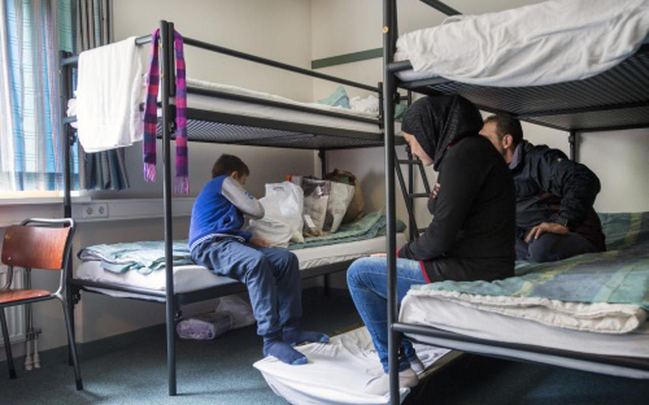 Noodopvang vluchtelingen in Groningen