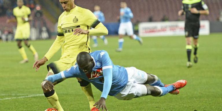 Inter zet Napoli uit beker