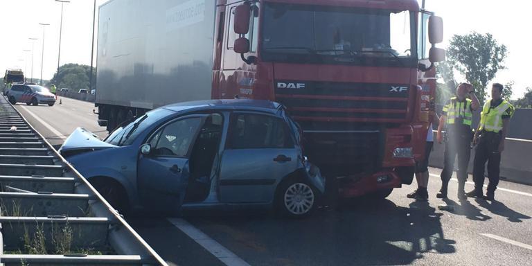 Ring Groningen weer open na urenlange afsluiting door ongeluk.