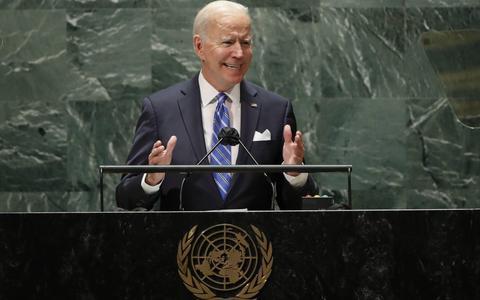 Biden: beslissend decennium is aangebroken voor mensheid