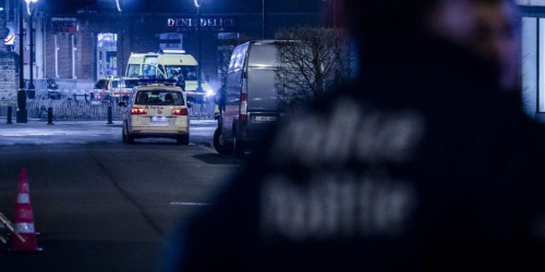 Antiterreuractie Brussel 's nachts afgerond