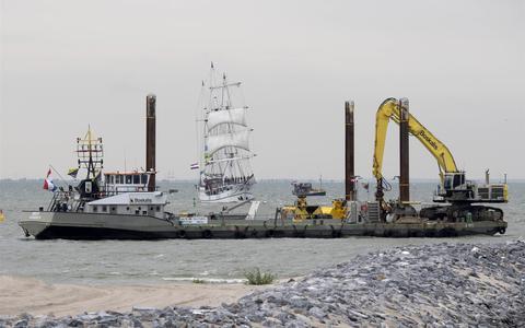 Rouzand Express uit Zoutkamp zuigt waarschijnlijk in mei laatste zandkorrel uit de Waddenzee, maar 'dit is echt een verkeerde beslissing'