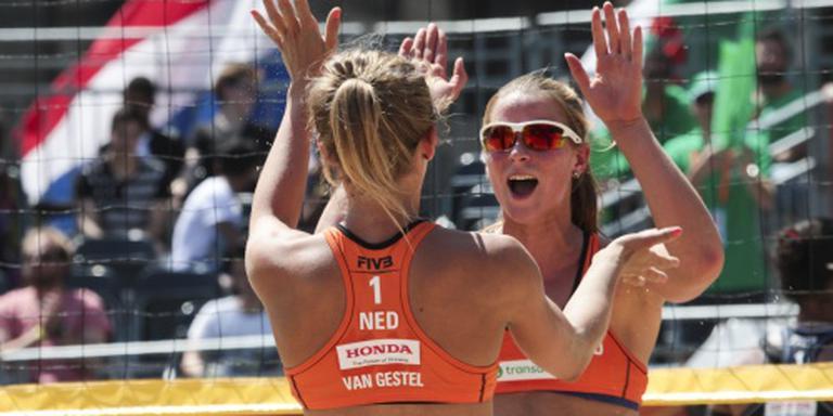 Beachvolleybalsters krijgen Rio in zicht