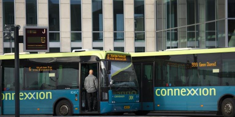 Busdienst gestopt na golf van vernieling