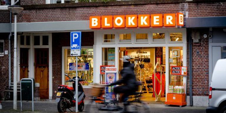 Opnieuw reorganisatie bij Blokker. FOTO ANP