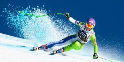 Zware knieblessure skiester Stuhec