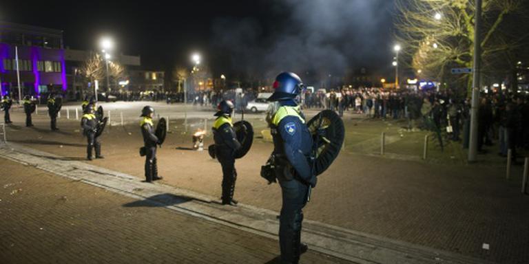 Protest tegen azc in Heesch loopt uit de hand
