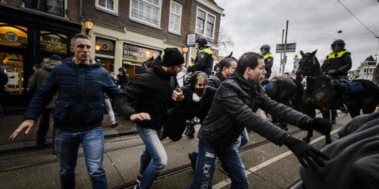 Twintig aanhoudingen rond Pegida-demonstratie