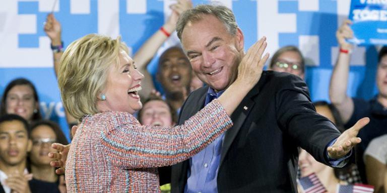 Clinton kiest Tim Kaine als running mate