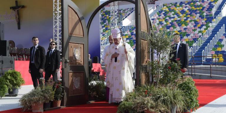 Weinig animo voor paus in Georgië