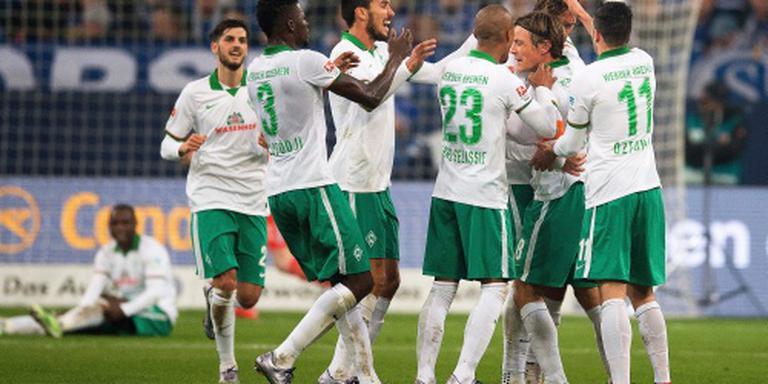 Werder verslaat Schalke
