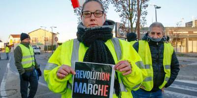 125.000 actievoerders op Franse wegen