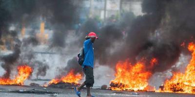 Toeristen Haïti met helikopter geëvacueerd