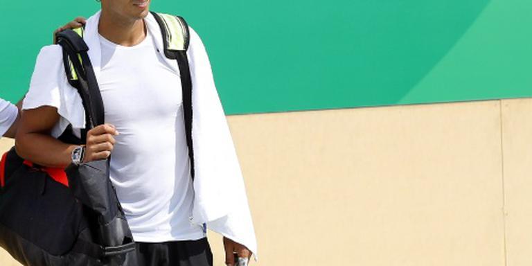 Nadal in actie op Olympische Spelen
