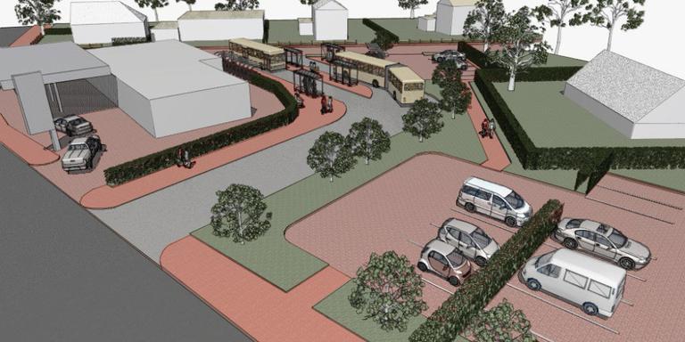 Nieuw busstation Norg komt stap dichter bij