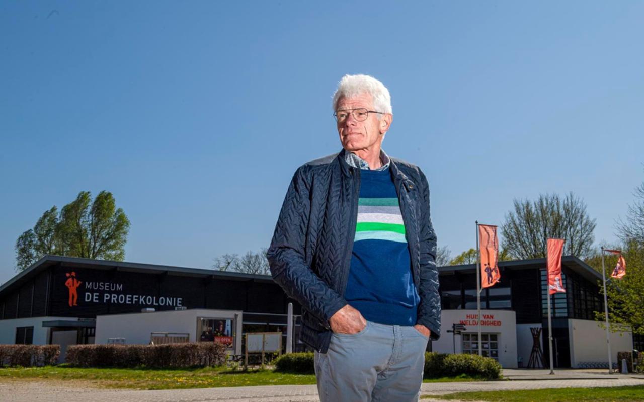Voormalig directeur Jan Mensink van de Maatschappij van Weldadigheid.