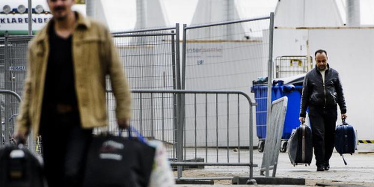 Aantal geregistreerde asielzoekers fors minder