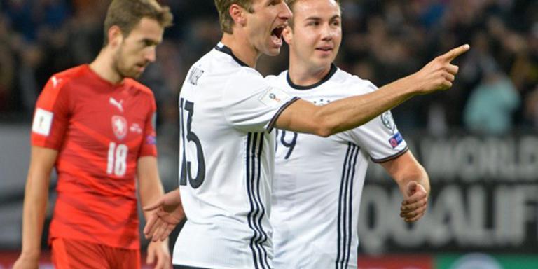 Duitsland laat ook Tsjechië kansloos