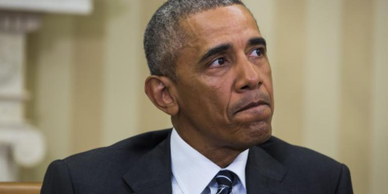 Obama ontmoet nabestaanden bloedbad Orlando
