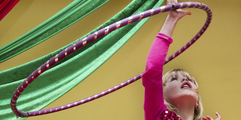 Ieder kind welkom bij circuskamp van Okidoki