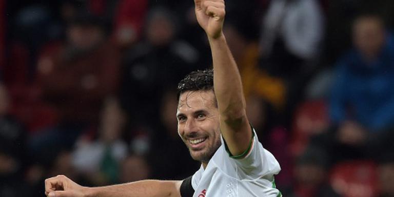 Bremen mist Pizarro in degradatiestrijd