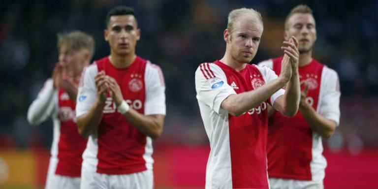 Klaassen baalt van gelijkspel Ajax