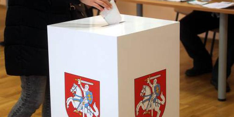 Litouwse kiezers straffen regering af