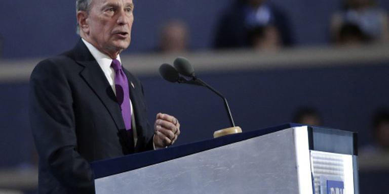 Bloomberg verklaart steun aan Clinton