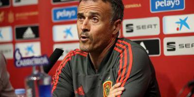 Spaanse bondscoach Luis Enrique mist Malta