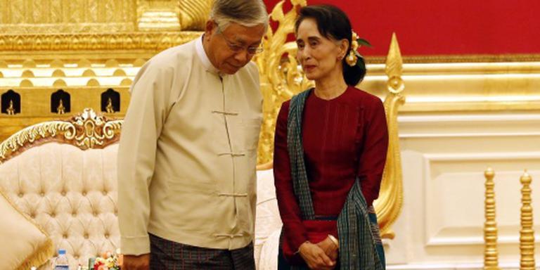 Politieke gevangenen Myanmar snel vrij