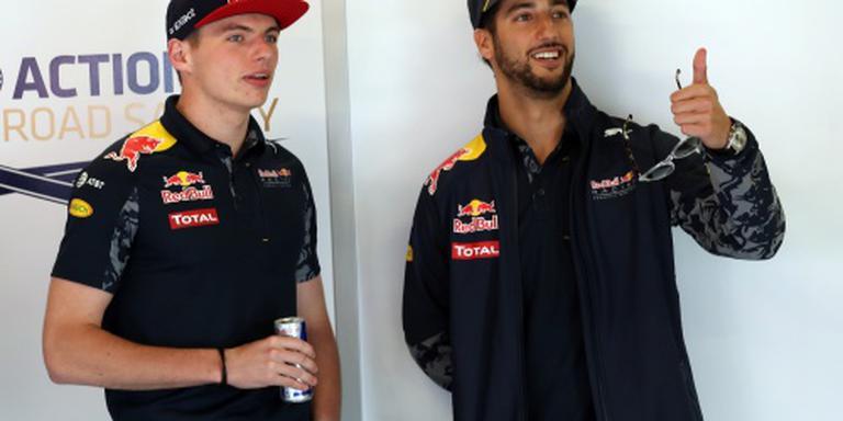 Ricciardo: Max is een uitdaging voor me