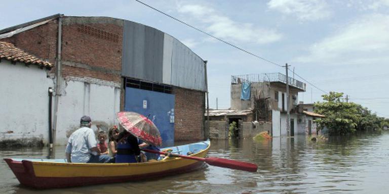130.000 Paraguayanen op de vlucht voor water