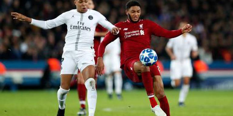 Liverpool zes weken zonder verdediger Gomez