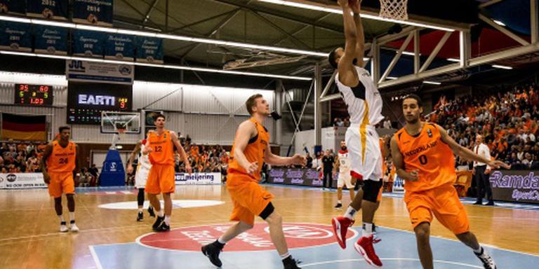 Nederlandse basketballers missen EK