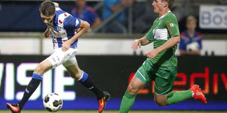 Larsson loodst Heerenveen naar middenmoot