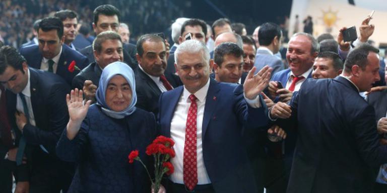 Yildirim gekozen tot leider AK-partij